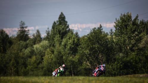 Toprak Razgatlioglu, Pata Yamaha with BRIXX WorldSBK, Jonathan Rea, Kawasaki Racing Team WorldSBK, Most FP2