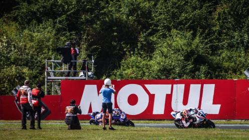 Michael van der Mark, BMW Motorrad WorldSBK Team, Most FP2