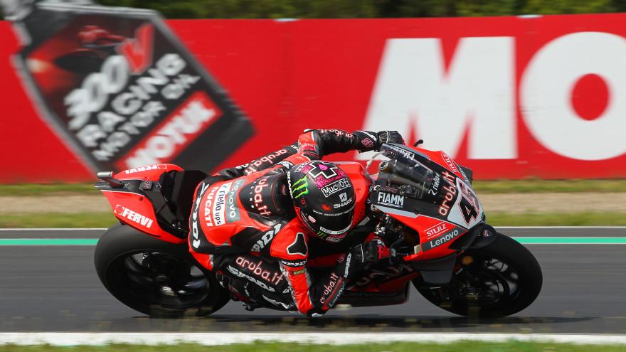 Scott Redding, Aruba.it Racing - Ducati, Most FP1