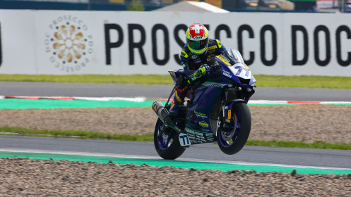Dominique Aegerter, Ten Kate Racing Yamaha, Most FP2