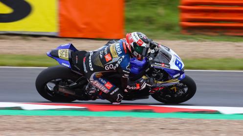 Manuel Gonzalez, Yamaha ParkinGo Team, Most FP2