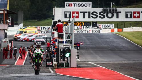 Alex Lowes, Kawasaki Racing Team WorldSBK, Most FP2