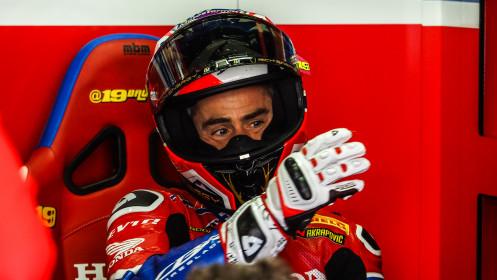 Alvaro Bautista, Team HRC, Most FP2