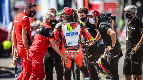 Axel Bassani, Motocorsa Racing, Most RACE 1