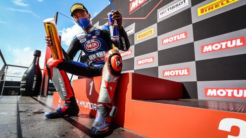 Toprak Razgatlioglu, Pata Yamaha with BRIXX WorldSBK, Most RACE 1