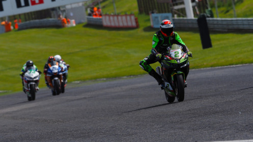 Alejandro Carrion, Kawasaki GP Project, Most RACE 1