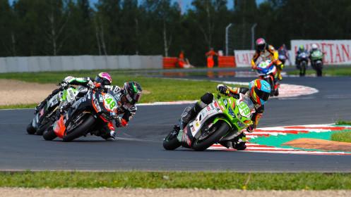 Adrian Huertas, MTM Kawasaki, Most RACE 1