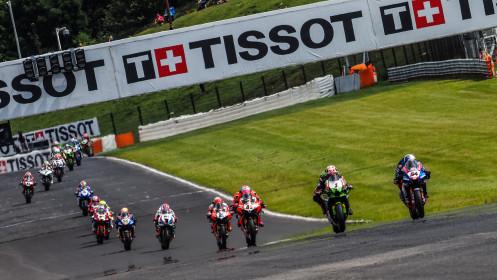 Toprak Razgatlioglu, Pata Yamaha with BRIXX WorldSBK, Jonathan Rea, Kawasaki Racing Team WorldSBK, Most RACE 1