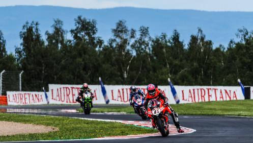 Scott Redding, Aruba.it Racing - Ducati, Toprak Razgatlioglu, Pata Yamaha with BRIXX WorldSBK, Most RACE 1