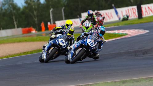 Jules Cluzel, GMT94 Yamaha, Most RACE 1