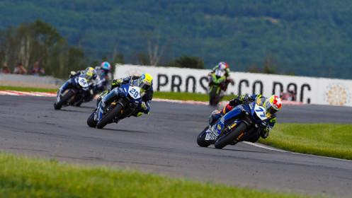 Dominique Aegerter, Ten Kate Racing Yamaha, Most RACE 1