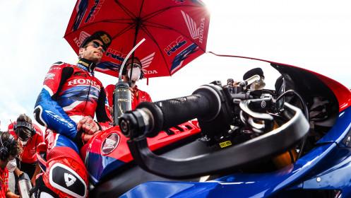 Alvaro Bautista, Leon Haslam, Team HRC, Most RACE 1