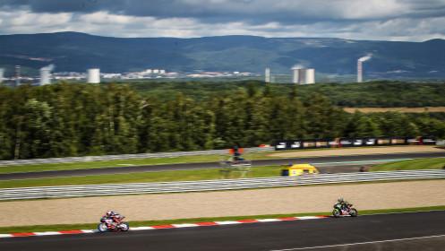 Toprak Razgatlioglu, Pata Yamaha with BRIXX WorldSBK, Jonathan Rea, Kawasaki Racing Team WorldSBK, Most RACE 2