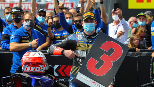 Manuel Gonzalez, Yamaha ParkinGo Team, Most RACE 2