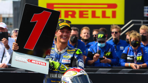 Dominique Aegerter, Ten Kate Racing Yamaha, Most RACE 2