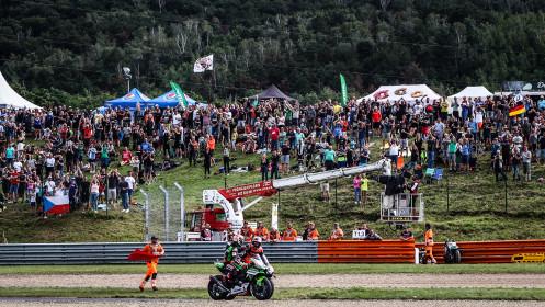 Jonathan Rea, Kawasaki Racing Team WorldSBK, Scott Redding, Aruba.it Racing - Ducati, Most RACE 2