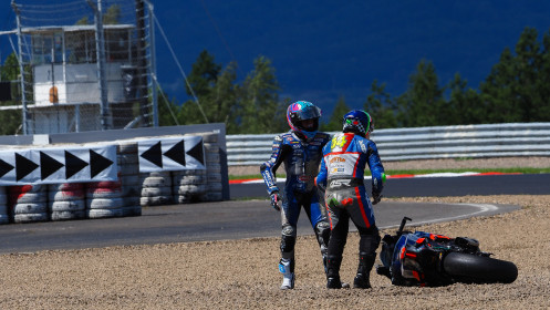 Jules Cluzel, GMT94 Yamaha, Kevin Manfredi, Altogo Racing Team, Most RACE 2