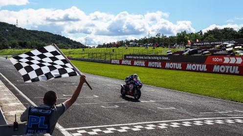 Toprak Razgatlioglu, Pata Yamaha with BRIXX WorldSBK, Most Superpole Race