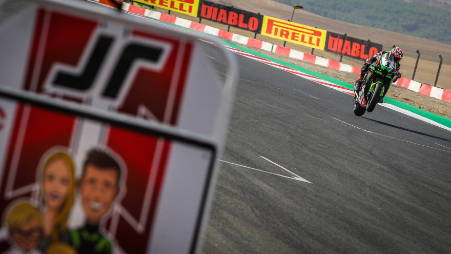 Jonathan Rea, Kawasaki Racing Team WorldSBK, Navarra FP1