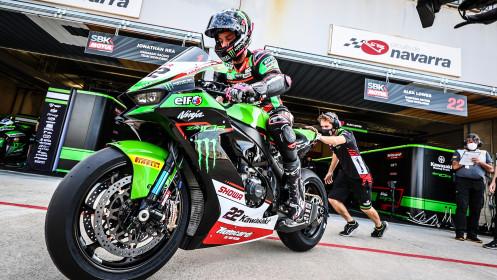 Alex Lowes, Kawasaki Racing Team WorldSBK, Navarra FP2
