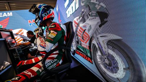 Leandro Mercado, MIE Racing Honda Racing, Navarra FP2