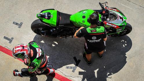 Jonathan Rea, Kawasaki Racing Team WorldSBK, Navarra FP2