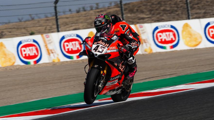 Scott Redding, Aruba.it Racing - Ducati, Navarra FP1
