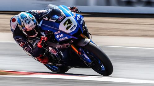 Kohta Nozane, GRT Yamaha WorldSBK Team, Navarra FP2