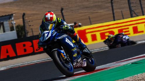 Dominique Aegerter, Ten Kate Racing Yamaha, Navarra FP2