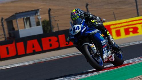 Federico Caricasulo, Biblion Iberica Yamaha Motoxracing, Navarra FP2
