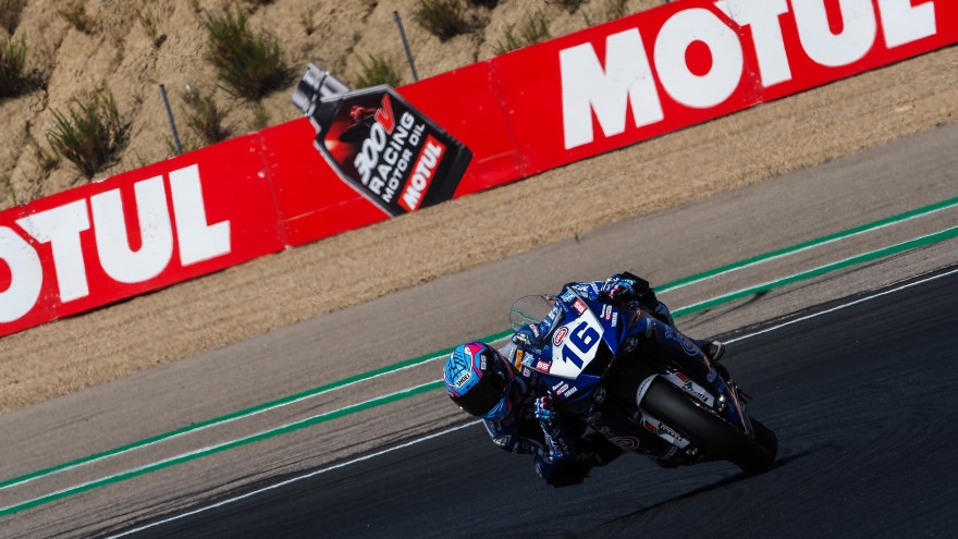 Jules Cluzel, GMT94 Yamaha, Navarra FP2