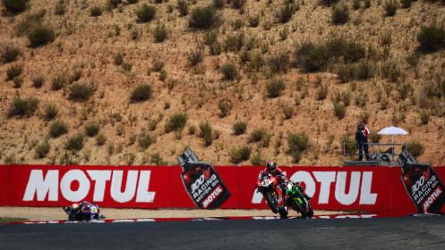 Scott Redding, Aruba.it Racing - Ducati, Jonathan Rea, Kawasaki Racing Team WorldSBK, Navarra RACE 1