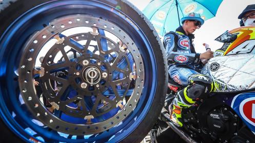 Andrea Locatelli, Pata Yamaha with Brixx WorldSBK, Navarra RACE 1