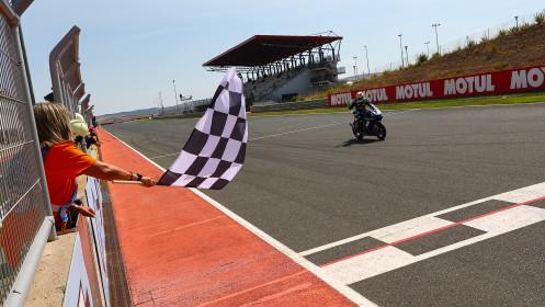 Dominique Aegerter, Ten Kate Racing Yamaha, Navarra RACE 1