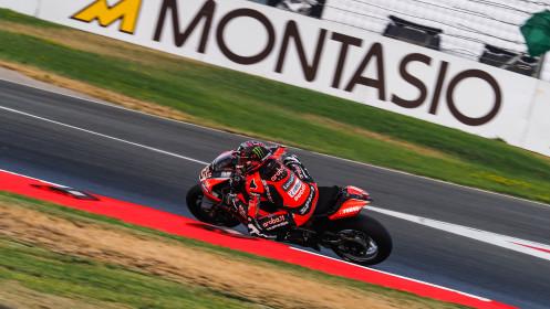 Scott Redding, Aruba.it Racing - Ducati, Nvarra FP3