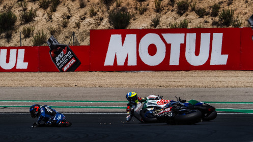 Christophe Ponsson, Alstare Yamaha, Leandro Mercado, MIE Racing Honda Racing, Navarra RACE 1