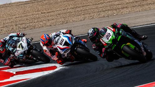 Alex Lowes, Kawasaki Racing Team WorldSBK, Navarra RACE 1