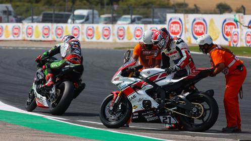 Can Alexander Oncu, Kawasaki Puccetti Racing, Randy Krummenacher, EAB Racing Team, Navarra RACE 2