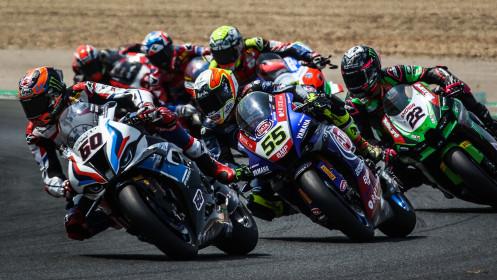 Michael van der Mark, BMW Motorrad WorldSBK Team, Navarra RACE 2