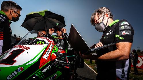 Jonathan Rea, Kawasaki Racing Team WorldSBK, Navarra Tissot Superpole RACE