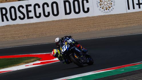 Dominique Aegerter, Ten Kate Racing Yamaha, Navarra RACE 2