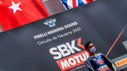 Toprak Razgatlioglu, Pata Yamaha with Brixx WorldSBK, Navarra RACE 2
