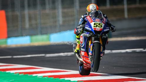 Andrea Locatelli, Pata Yamaha with Brixx WorldSBK, Magny-Cours FP2