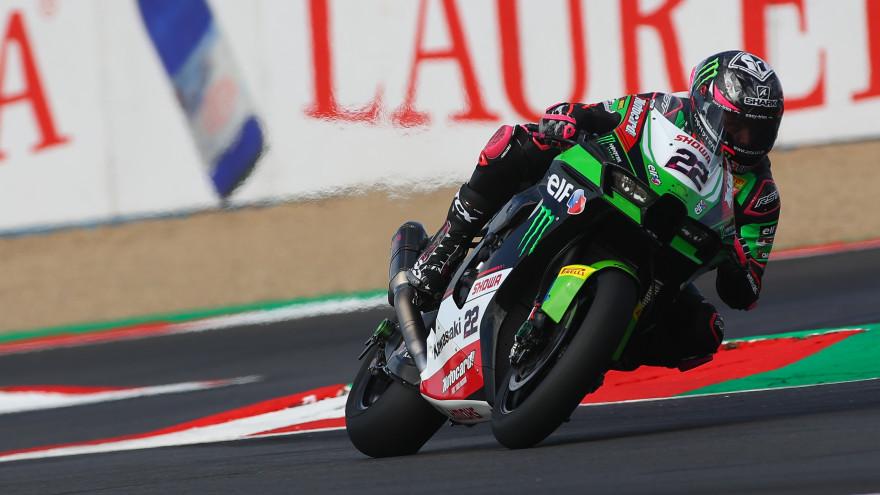 Alex Lowes, Kawasaki Racing Team WorldSBK, Magny-Cours FP1