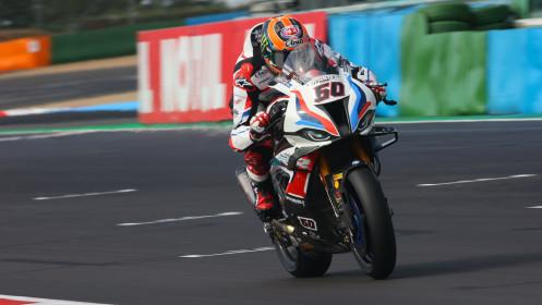 Michael van der Mark, BMW Motorrad WorldSBK Team, Magny-Cours FP1