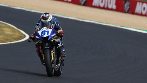 Manuel Gonzalez, Yamaha ParkinGo Team, Magny-Cours FP2