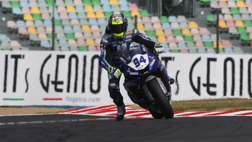 Federico Caricasulo, Biblion Iberica Yamaha Motoxracing, Magny-Cours FP1
