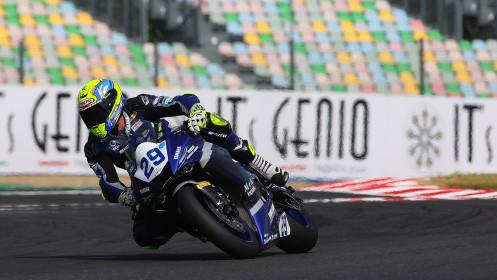 Luca Bernardi, CM Racing, Magny-Cours FP2