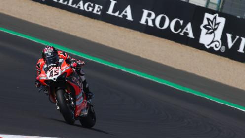 Scott Redding, Aruba.it Racing - Ducati, Magny-Cours FP2