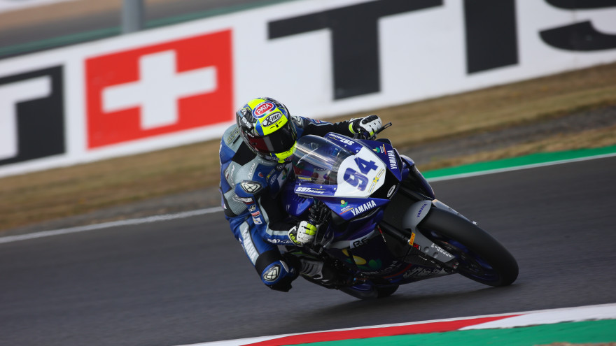 Federico Caricasulo, Biblion Iberica Yamaha Motoxracing, Magny-Cours FP2